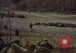 Image of United States Marines in combat during Korean War Hoengsong Korea, 1951, second 9 stock footage video 65675041615
