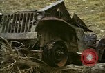 Image of Wrecked U.S. military trucks after Hoengsong massacre Hoengsong Korea, 1951, second 6 stock footage video 65675041618