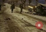 Image of Wrecked U.S. military trucks after Hoengsong massacre Hoengsong Korea, 1951, second 26 stock footage video 65675041618