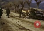 Image of Wrecked U.S. military trucks after Hoengsong massacre Hoengsong Korea, 1951, second 29 stock footage video 65675041618