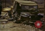 Image of Wrecked U.S. military trucks after Hoengsong massacre Hoengsong Korea, 1951, second 33 stock footage video 65675041618