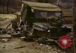 Image of Wrecked U.S. military trucks after Hoengsong massacre Hoengsong Korea, 1951, second 36 stock footage video 65675041618
