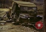 Image of Wrecked U.S. military trucks after Hoengsong massacre Hoengsong Korea, 1951, second 37 stock footage video 65675041618