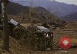 Image of Wrecked U.S. military trucks after Hoengsong massacre Hoengsong Korea, 1951, second 46 stock footage video 65675041618