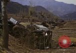 Image of Wrecked U.S. military trucks after Hoengsong massacre Hoengsong Korea, 1951, second 47 stock footage video 65675041618