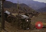 Image of Wrecked U.S. military trucks after Hoengsong massacre Hoengsong Korea, 1951, second 48 stock footage video 65675041618