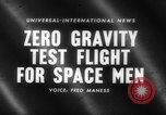 Image of astronaut training Ohio United States USA, 1959, second 1 stock footage video 65675041623