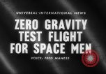 Image of astronaut training Ohio United States USA, 1959, second 2 stock footage video 65675041623