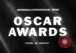 Image of Oscar Awards California United States USA, 1962, second 1 stock footage video 65675041638