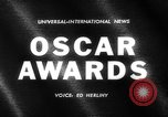 Image of Oscar Awards California United States USA, 1962, second 2 stock footage video 65675041638