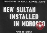Image of Sultan Morocco North Africa, 1953, second 14 stock footage video 65675041645