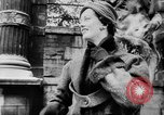 Image of French designed fashions of 1953 Paris France, 1953, second 15 stock footage video 65675041651
