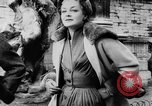 Image of French designed fashions of 1953 Paris France, 1953, second 20 stock footage video 65675041651