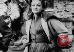 Image of French designed fashions of 1953 Paris France, 1953, second 21 stock footage video 65675041651