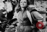 Image of French designed fashions of 1953 Paris France, 1953, second 22 stock footage video 65675041651