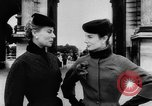 Image of French designed fashions of 1953 Paris France, 1953, second 23 stock footage video 65675041651