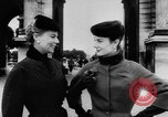 Image of French designed fashions of 1953 Paris France, 1953, second 24 stock footage video 65675041651
