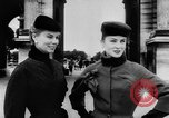 Image of French designed fashions of 1953 Paris France, 1953, second 25 stock footage video 65675041651