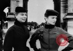 Image of French designed fashions of 1953 Paris France, 1953, second 26 stock footage video 65675041651