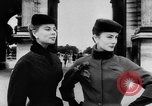 Image of French designed fashions of 1953 Paris France, 1953, second 27 stock footage video 65675041651