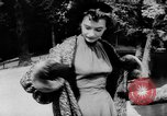 Image of French designed fashions of 1953 Paris France, 1953, second 36 stock footage video 65675041651