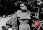 Image of French designed fashions of 1953 Paris France, 1953, second 37 stock footage video 65675041651