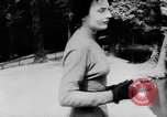 Image of French designed fashions of 1953 Paris France, 1953, second 40 stock footage video 65675041651