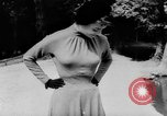 Image of French designed fashions of 1953 Paris France, 1953, second 41 stock footage video 65675041651