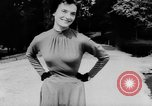 Image of French designed fashions of 1953 Paris France, 1953, second 42 stock footage video 65675041651