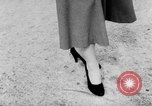 Image of French designed fashions of 1953 Paris France, 1953, second 45 stock footage video 65675041651