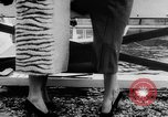 Image of French designed fashions of 1953 Paris France, 1953, second 48 stock footage video 65675041651
