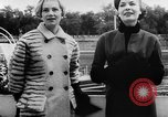 Image of French designed fashions of 1953 Paris France, 1953, second 51 stock footage video 65675041651