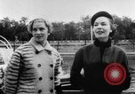 Image of French designed fashions of 1953 Paris France, 1953, second 52 stock footage video 65675041651