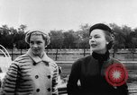 Image of French designed fashions of 1953 Paris France, 1953, second 53 stock footage video 65675041651