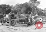 Image of B-29 lifted at North Field Guam, 1945, second 10 stock footage video 65675041657