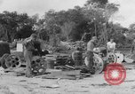 Image of B-29 lifted at North Field Guam, 1945, second 12 stock footage video 65675041657