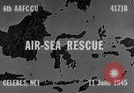 Image of PBY Catalina crashes during Air-Sea Rescue Celebes Netherlands East Indies, 1945, second 1 stock footage video 65675041658