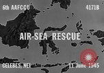Image of PBY Catalina crashes during Air-Sea Rescue Celebes Netherlands East Indies, 1945, second 4 stock footage video 65675041658