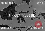 Image of PBY Catalina crashes during Air-Sea Rescue Celebes Netherlands East Indies, 1945, second 8 stock footage video 65675041658