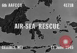 Image of PBY Catalina crashes during Air-Sea Rescue Celebes Netherlands East Indies, 1945, second 10 stock footage video 65675041658