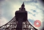 Image of Tokyo Tower Tokyo Japan, 1964, second 7 stock footage video 65675041701