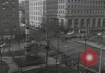 Image of downtown views and blast furnace operation Youngstown Ohio USA, 1944, second 47 stock footage video 65675041736
