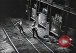 Image of steel production and kids in high school Youngstown Ohio USA, 1944, second 27 stock footage video 65675041737