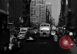 Image of crowded Fifth Avenue New York  New York City USA, 1946, second 11 stock footage video 65675041739