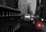 Image of crowded Fifth Avenue New York  New York City USA, 1946, second 12 stock footage video 65675041739