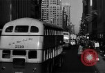 Image of crowded Fifth Avenue New York  New York City USA, 1946, second 13 stock footage video 65675041739