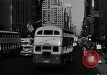 Image of crowded Fifth Avenue New York  New York City USA, 1946, second 14 stock footage video 65675041739