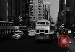 Image of crowded Fifth Avenue New York  New York City USA, 1946, second 15 stock footage video 65675041739