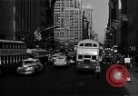 Image of crowded Fifth Avenue New York  New York City USA, 1946, second 16 stock footage video 65675041739