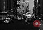 Image of crowded Fifth Avenue New York  New York City USA, 1946, second 17 stock footage video 65675041739